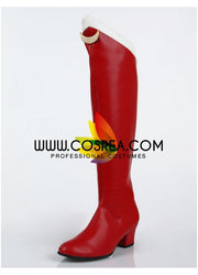 Sailormoon Usagi Tsukino Dark Red Cosplay Shoes - Cosrea Cosplay