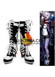 Suicide Squad Harley Quinn Movie Cosplay Shoes - Cosrea Cosplay