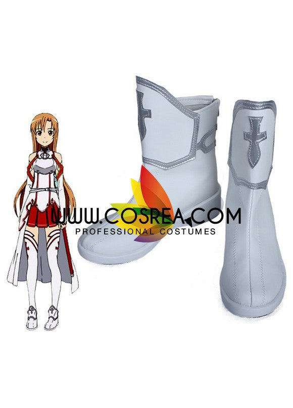 Sword Art Online Asuna Classic Cosplay Shoes - Cosrea Cosplay