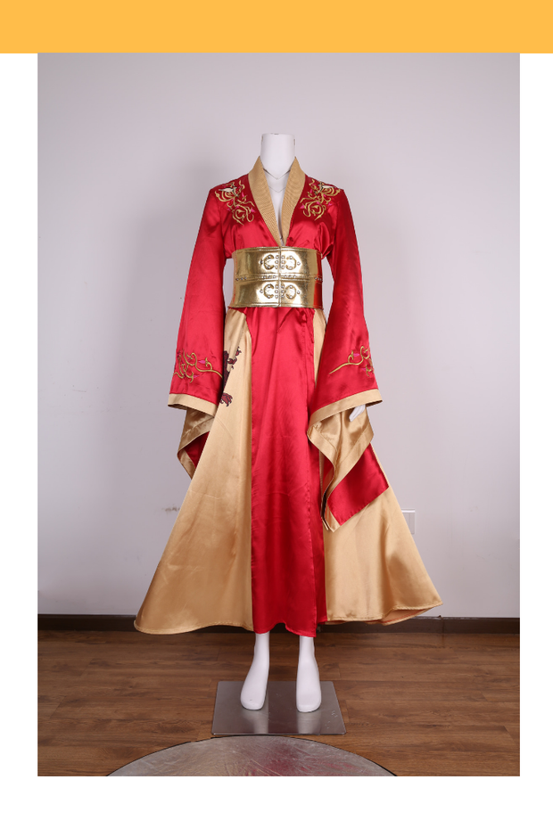 Cersei Lannister Season 2 Embroidered Game Of Thrones Cosplay Costume - Cosrea Cosplay