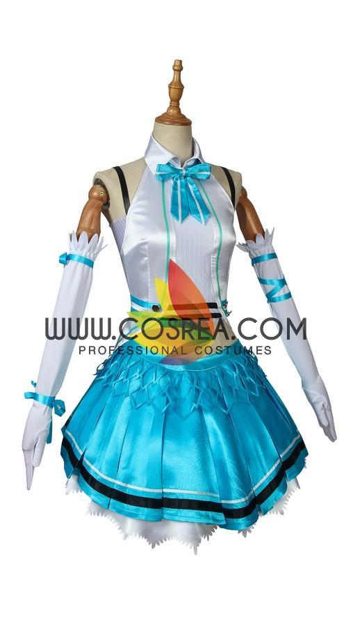 Cosrea U-Z Mirai Akari Virtual Youtuber Cosplay Costume