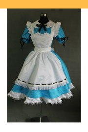 Cosrea U-Z Vocaloid Miku Alice In Musicland Cosplay Costume