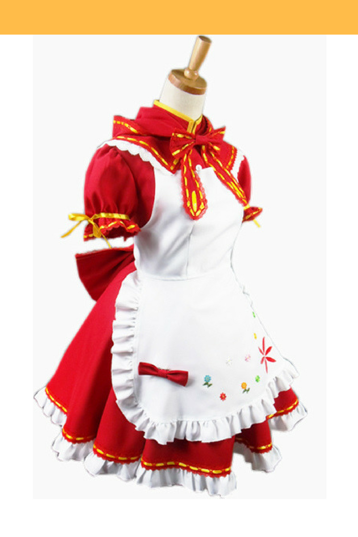 Vocaloid Miku Red Ridding Hood Cosplay Costume