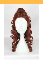 Cosrea wigs Beauty And Beast Princess Belle Curl Cosplay Wig