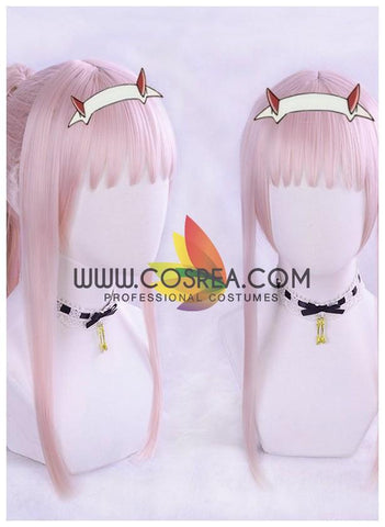 Darling In The Franxx Code 02 Pony Tail Cosplay Wig