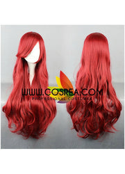 Little Mermaid Ariel Wine Red Cosplay Wig - Cosrea Cosplay