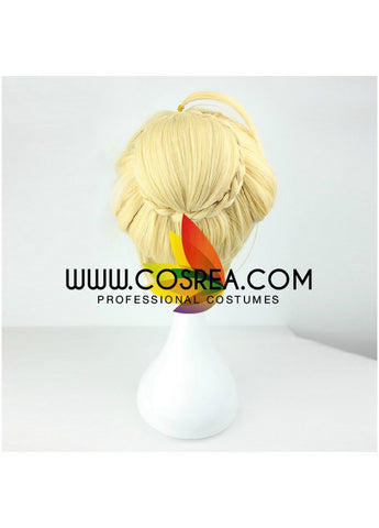 Fate Zero Saber Alter Cosplay Wig