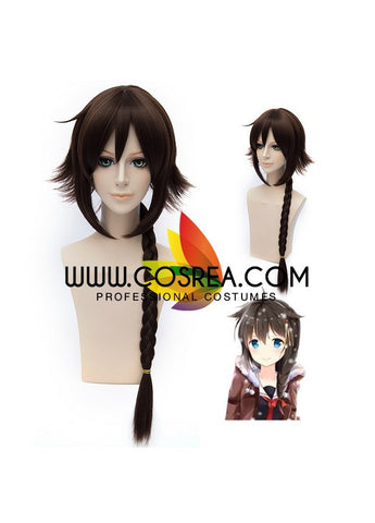Kancolle Shigure Braided Cosplay Wig