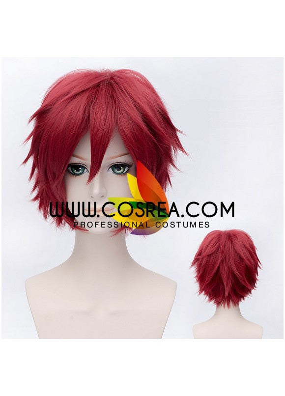 Naruto Gaara Wine Red Cosplay Wig - Cosrea Cosplay