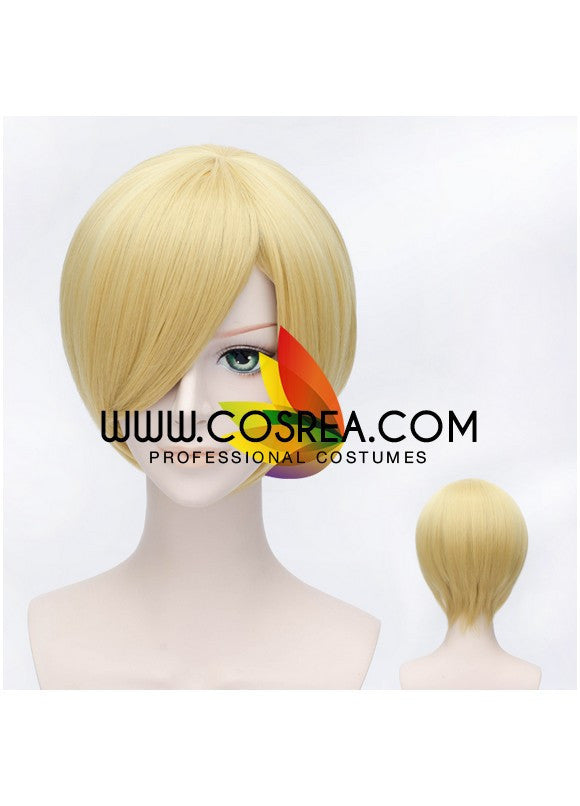 One Piece Sanji Cosplay Wig - Cosrea Cosplay