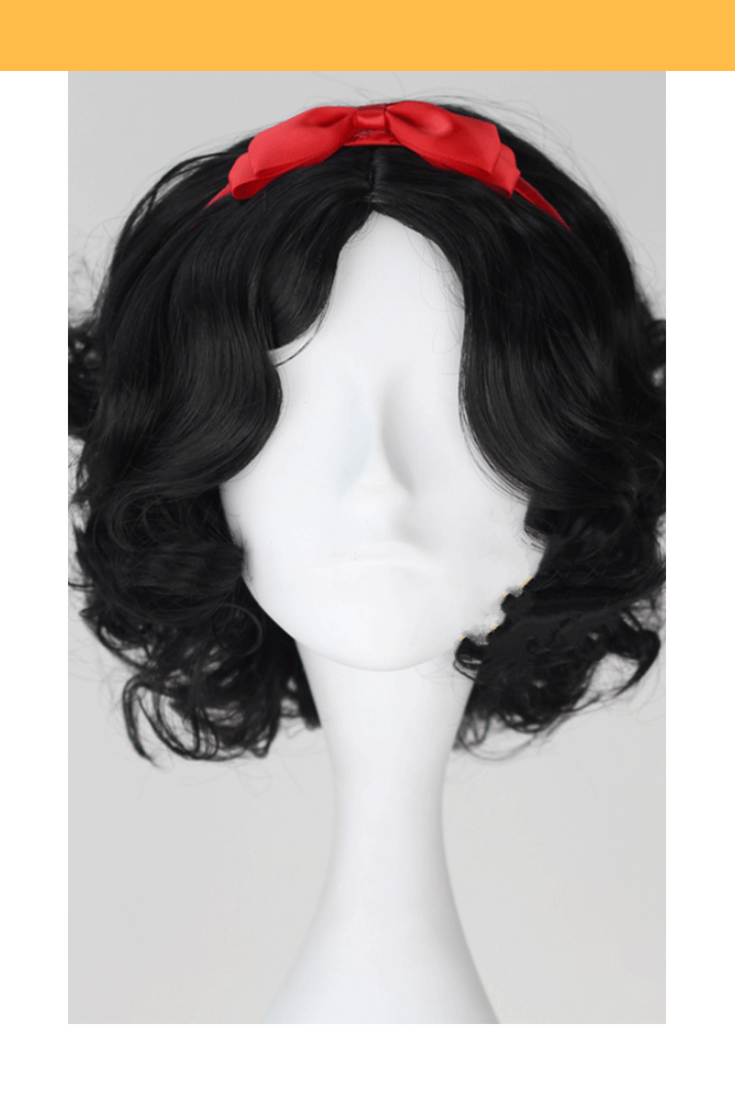 Snow White Natural Black Cosplay Wig - Cosrea Cosplay