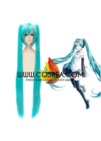 Vocaloid Miku Hatsune Extended Cosplay Wig
