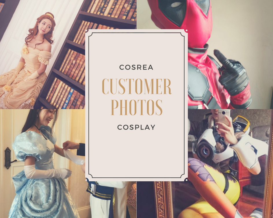 Cosrea Cosplay Customer Photos