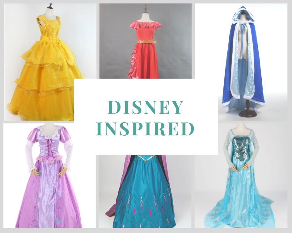 Cosrea Cosplay Disney Inspired Collection
