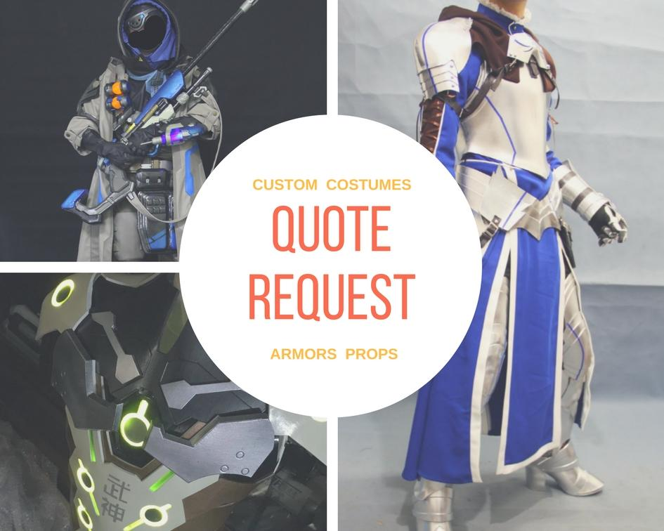 Cosrea Cosplay Quote Request