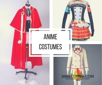 Cosrea Cosplay Anime Costumes Collection