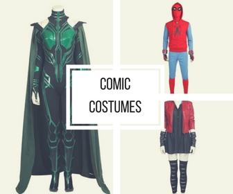 Cosrea Cosplay Comic Costumes Collection