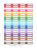 Monthly Planner Stickers Rainbow Hockey Sports Stickers Planner Labels Compatible with Erin Condren Vertical Life Planner planner sticker - INKtropolis