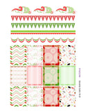 Monthly Planner Stickers Spanish Fiesta Sampler 2 Labels Compatible with Erin Condren Vertical Life Planner planner sticker - INKtropolis