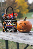 Personalized Halloween Trick Or Treat Bag, Kids Halloween Tote Bag - Bowl Of Eyeballs