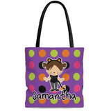 personalized cat costume halloween trick or treat bag