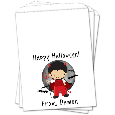 Dracula Halloween Favor Bags - Sets of 25