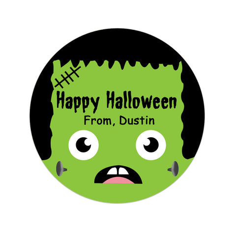 Frankenstein Face Personalized Sticker