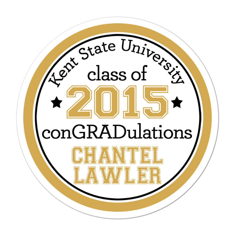 Graduation Personalized Sticker Miscellaneous Stickers - INKtropolis
