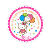 Hello Kitty Personalized Sticker Birthday Stickers - INKtropolis