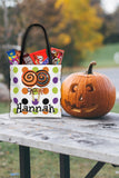 Personalized Halloween Trick Or Treat Bag, Kids Halloween Tote Bag - Lollipops