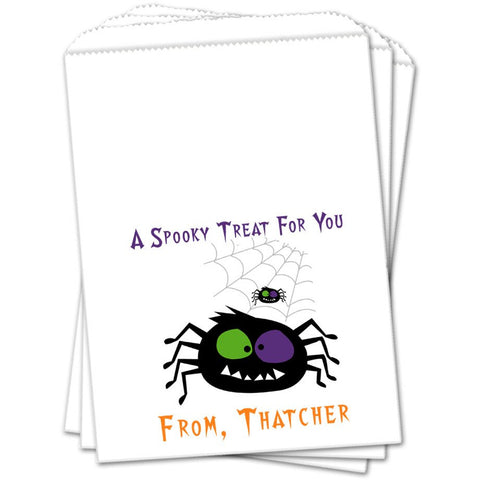 Funky Spider Halloween Favor Bags - Sets of 25