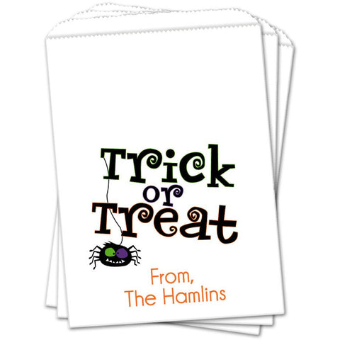 Trick Or Treat Halloween Favor Bags - Sets of 25