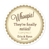 Whoopie Pie Personalized Sticker Wedding Stickers - INKtropolis
