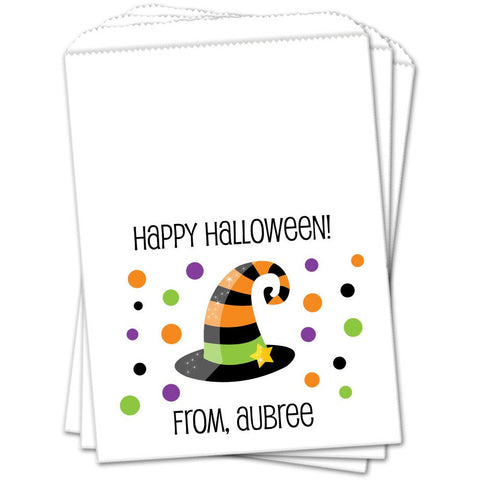Witch Hat Halloween Favor Bags - Sets of 25