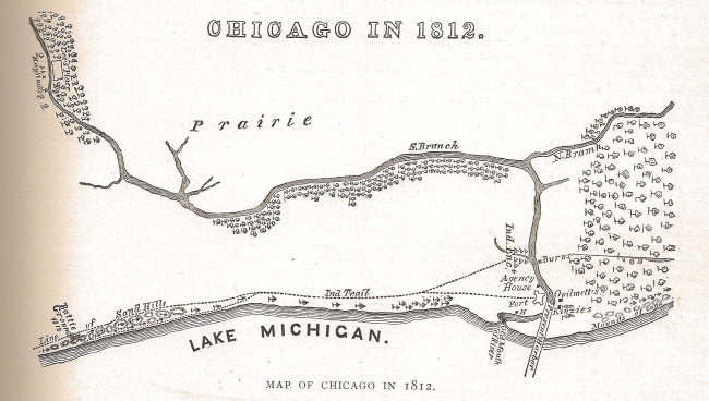 early chicago map