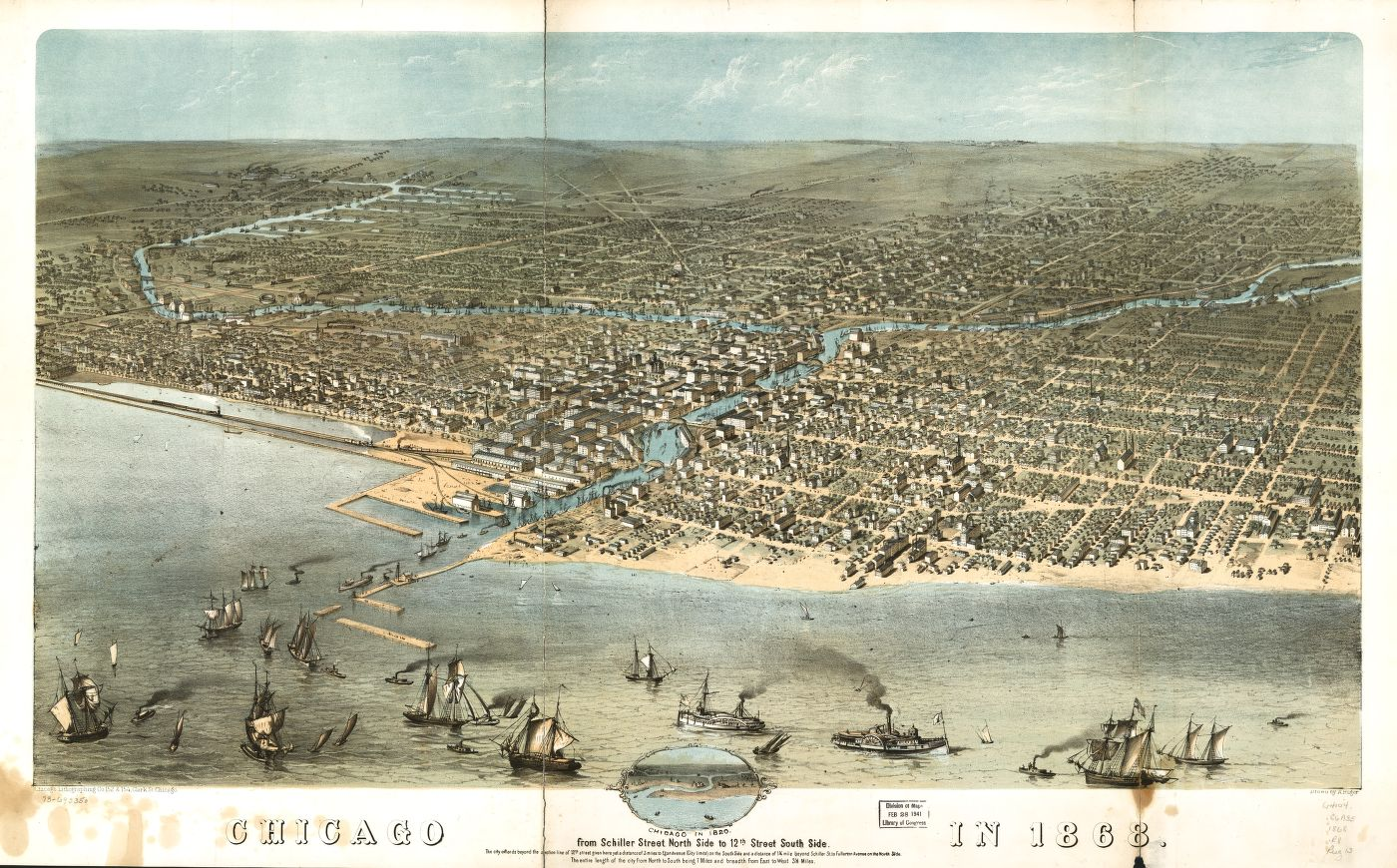 chicago early map