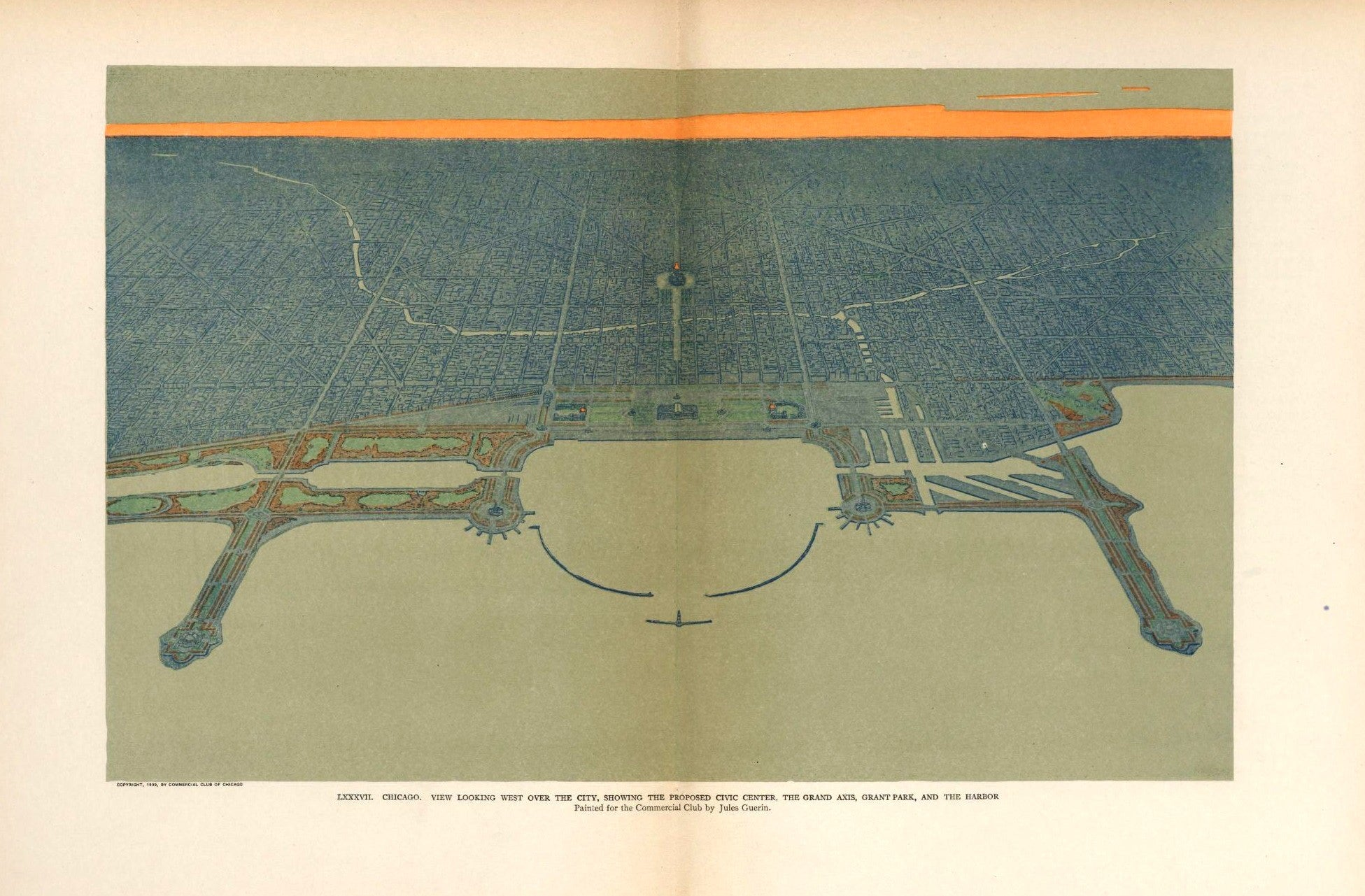 plan of chicago 1909