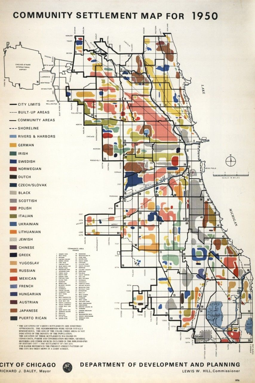 chicago ethnic map