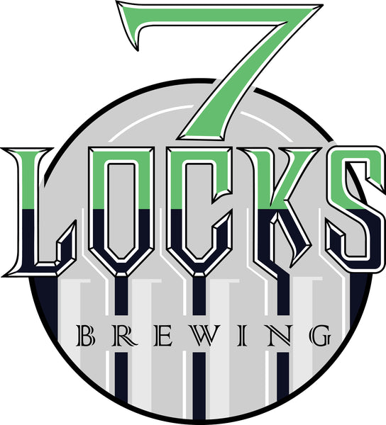 7 Locks Brewing Logo design