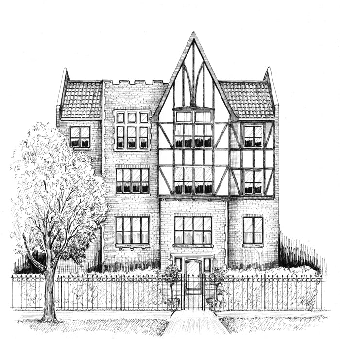 tudor apartments