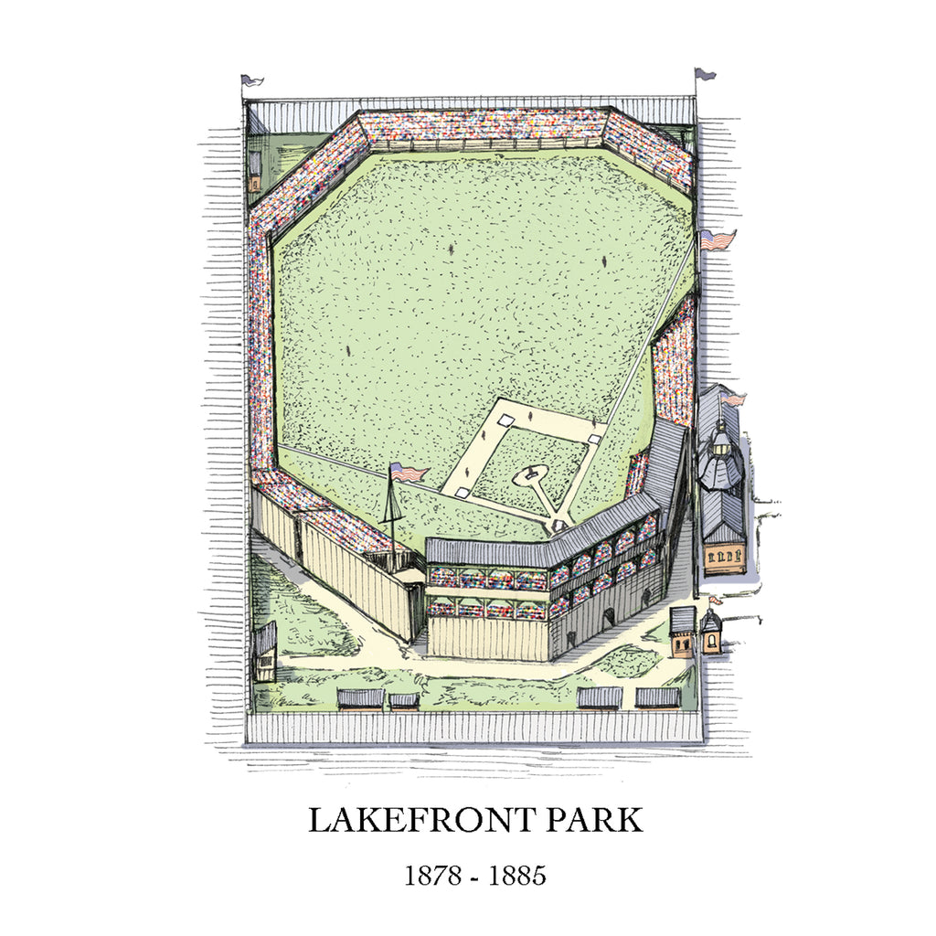 Lakefront Park drawing