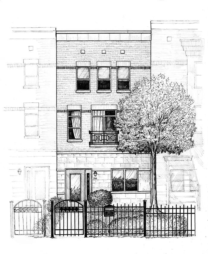 chicago home rendering