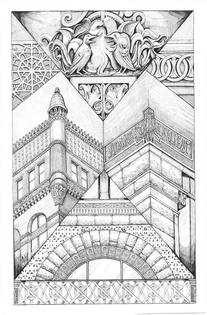 Rookery exterior drawing details