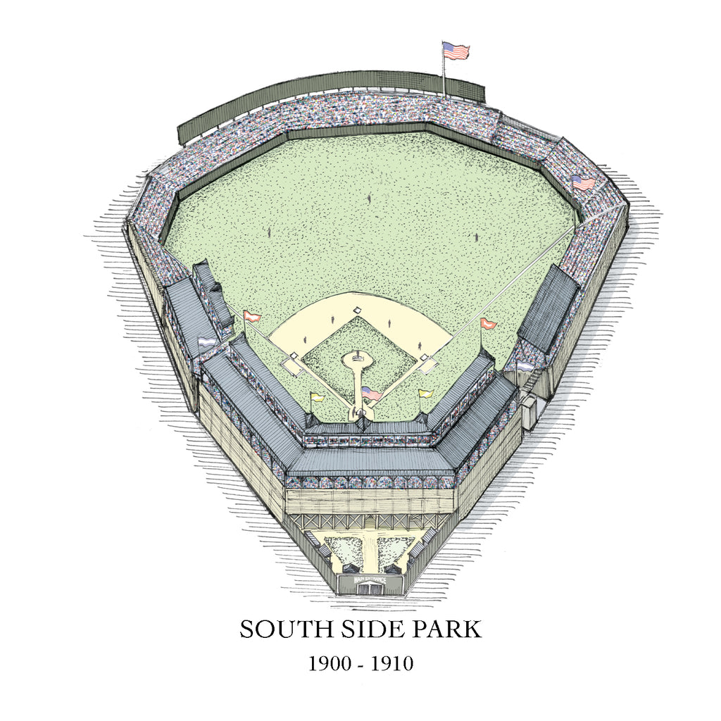 South Side Park drawing White Sox