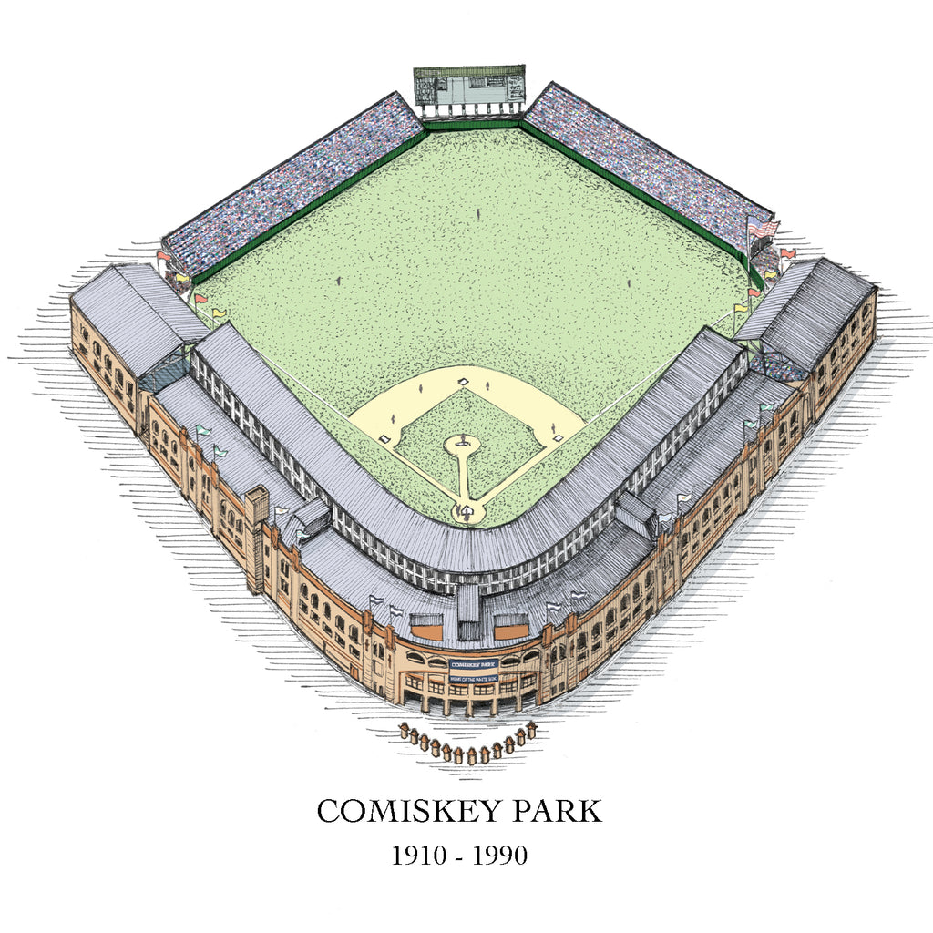 Comiskey Park drawing