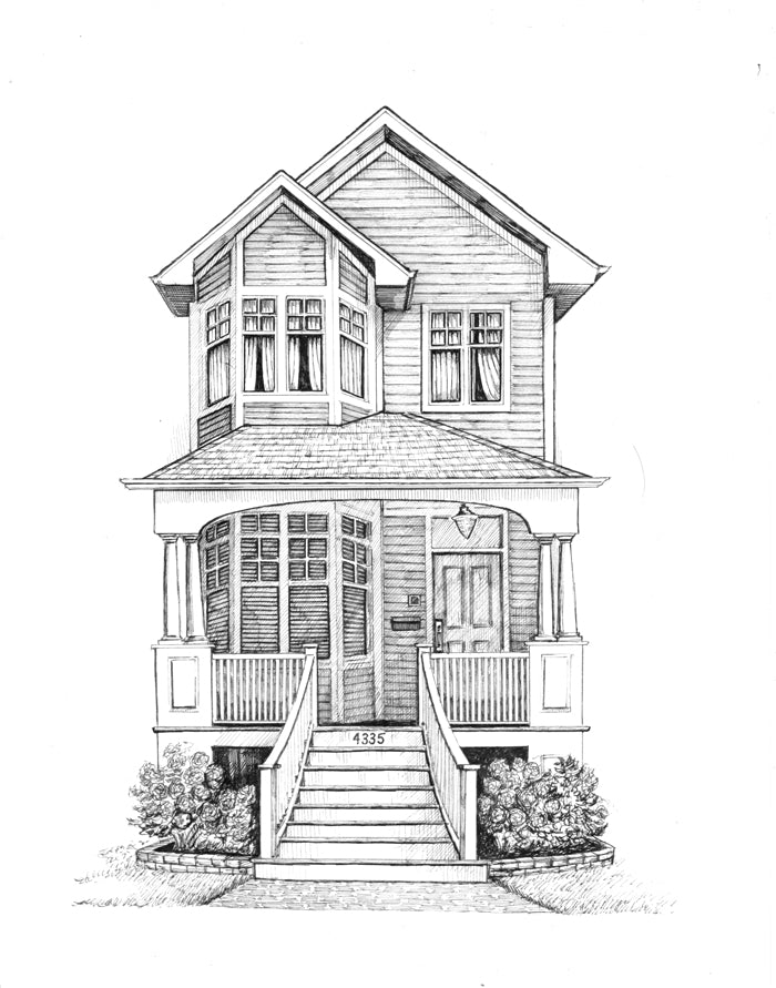 north center home drawing