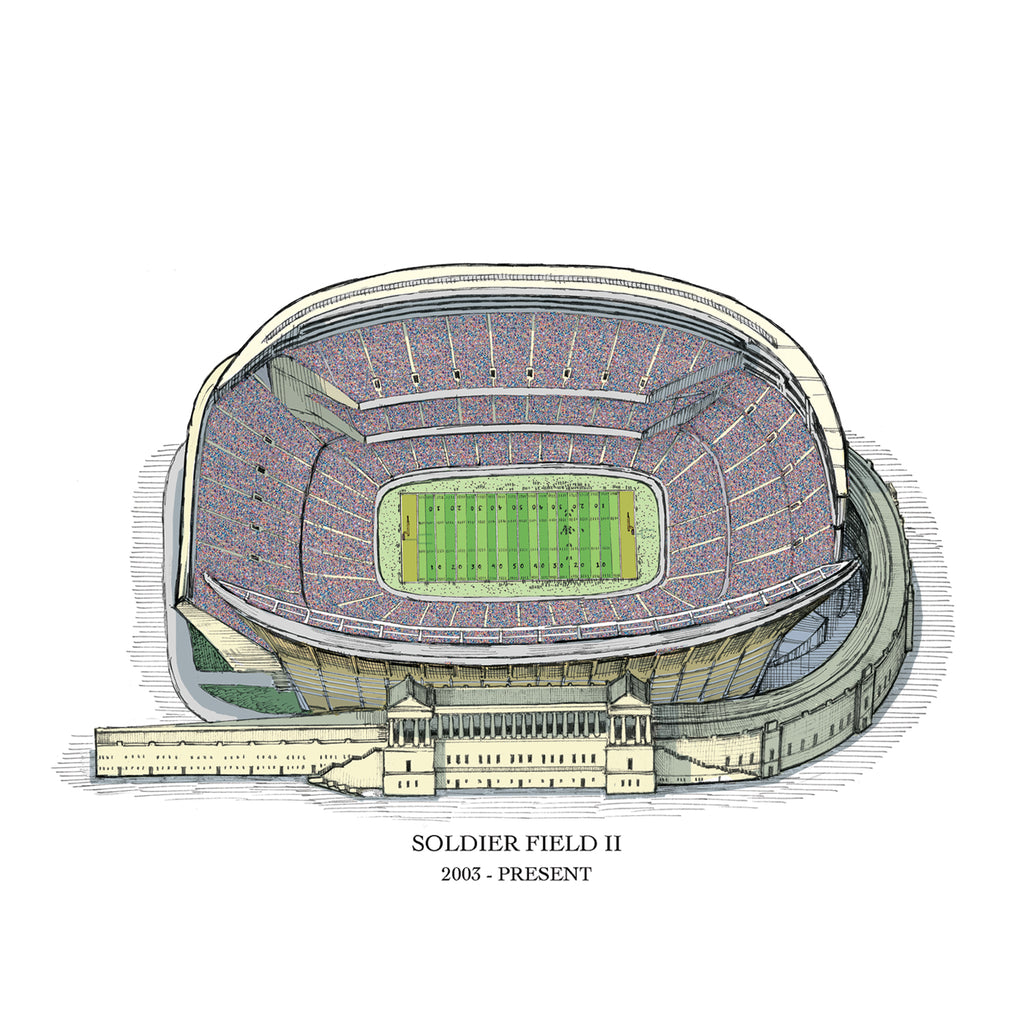soldier field drawing