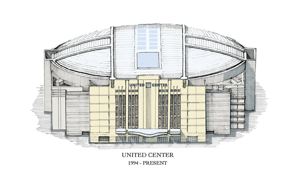united center drawing
