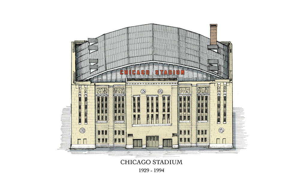 chicago stadium drawing