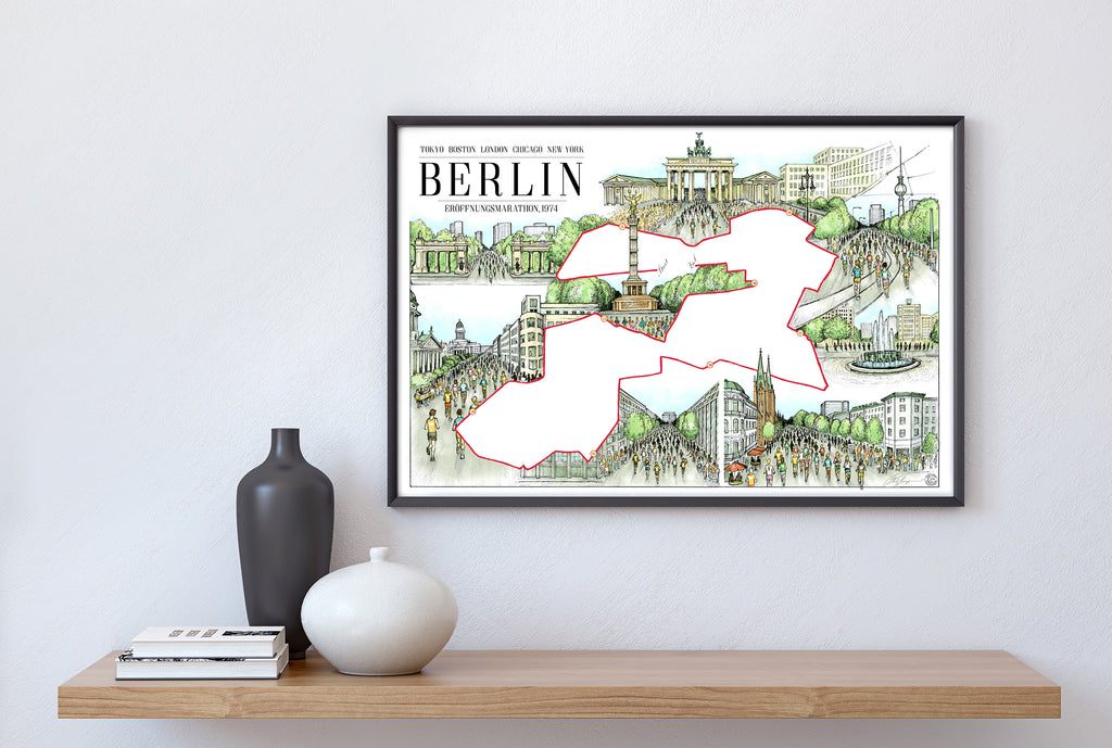 Berlin: The Marathon Map